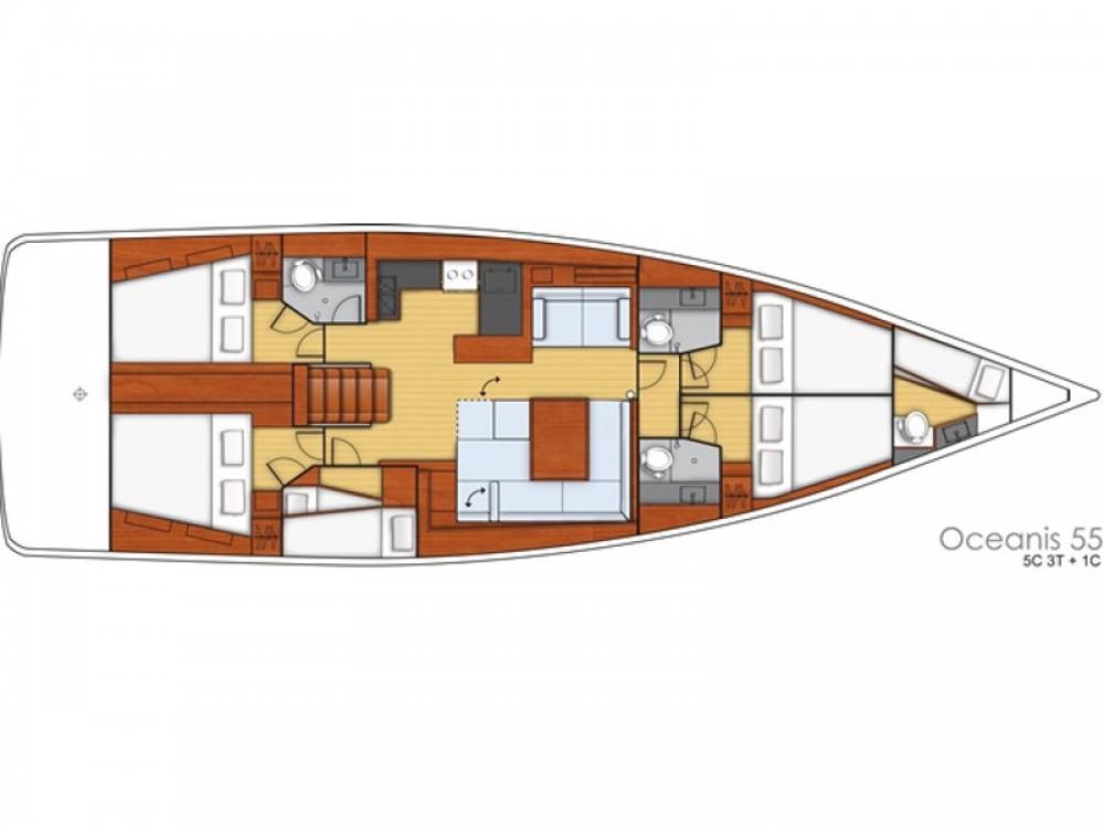 Rental Sailboat in Kos - Bénéteau Oceanis 55