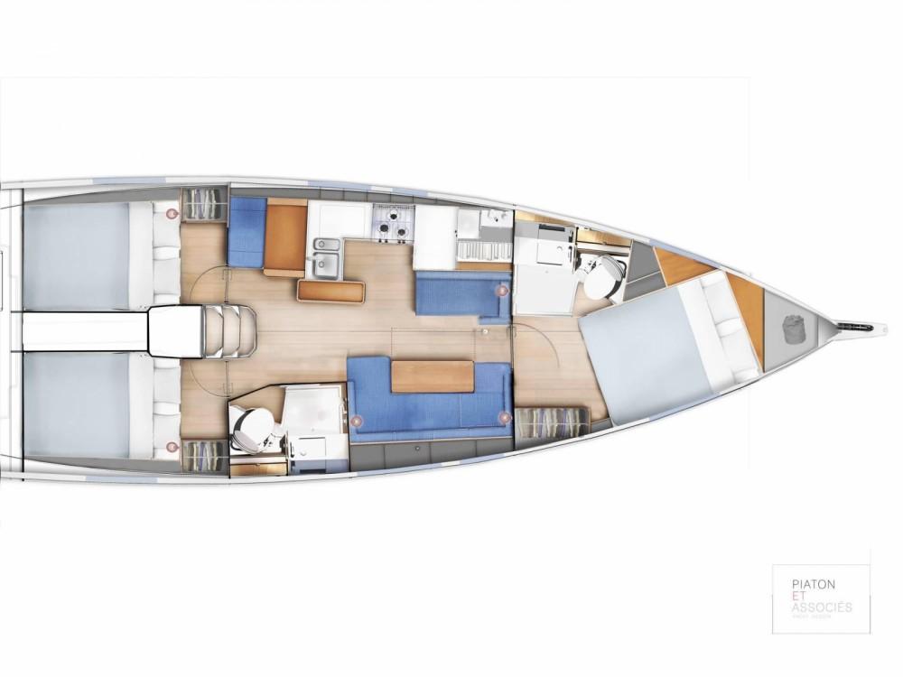 Boat rental Kos cheap Sun Odyssey 410