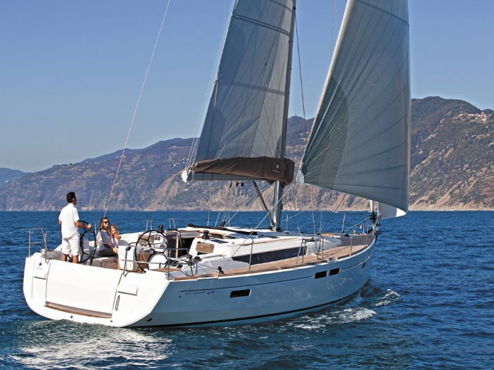 Jeanneau Sun Odyssey 479 between personal and professional Lefkas