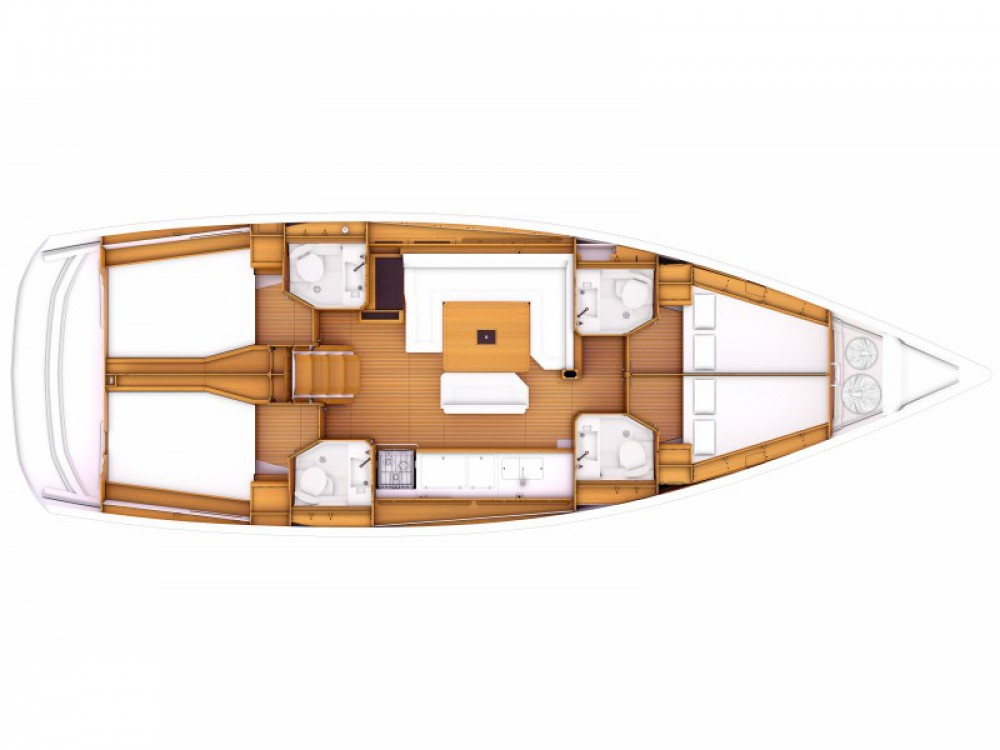 Jeanneau Sun Odyssey 479 between personal and professional Kos