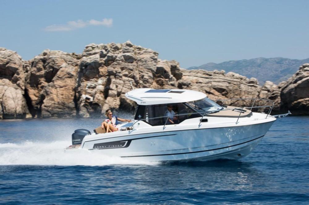 Boat rental Croatia cheap Merry Fisher 795