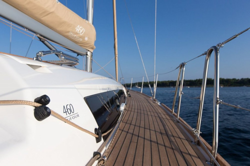 Boat rental Dufour Dufour 460 GL - 5 cab. in Marina Punat on Samboat