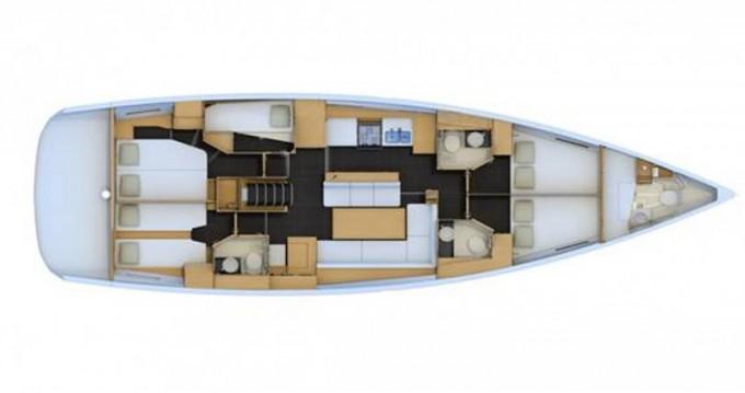 Location yacht à Gouviá - Jeanneau Jeanneau 54 sur SamBoat