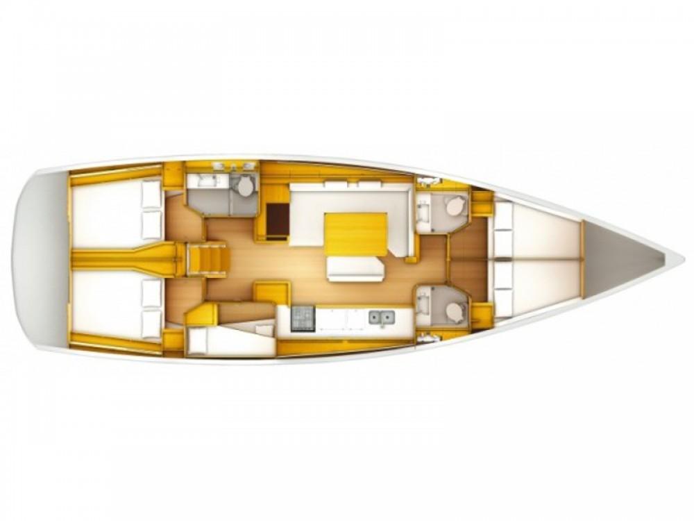 Boat rental Jeanneau Sun Odyssey 519 -  6 cabs in Kos on Samboat