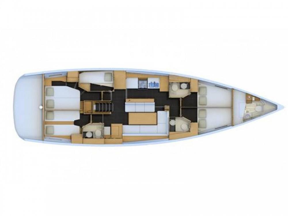 Rental Sailboat in Σκιάθος - Jeanneau Jeanneau 54