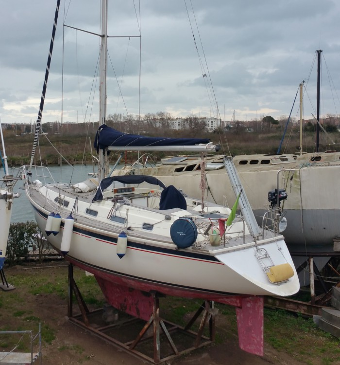 Rental Sailboat Westerly with a permit