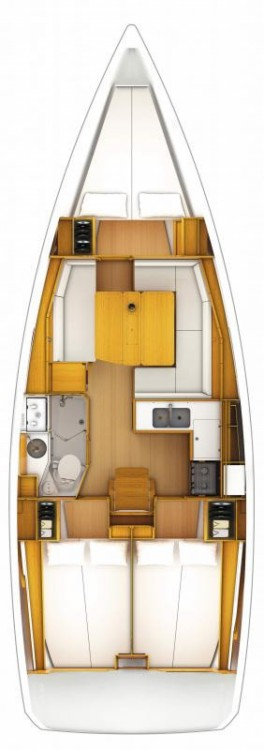 Boat rental Croatia cheap Sun Odyssey 389
