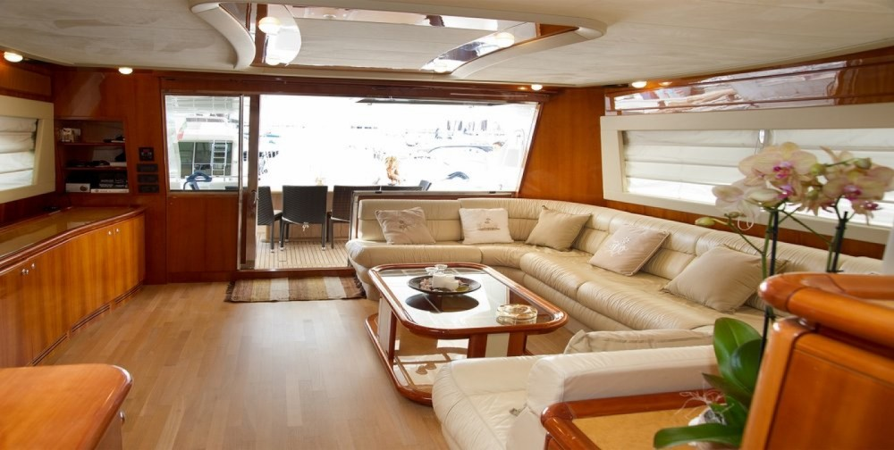 Hire Motor boat with or without skipper Ferretti Marina Kaštela