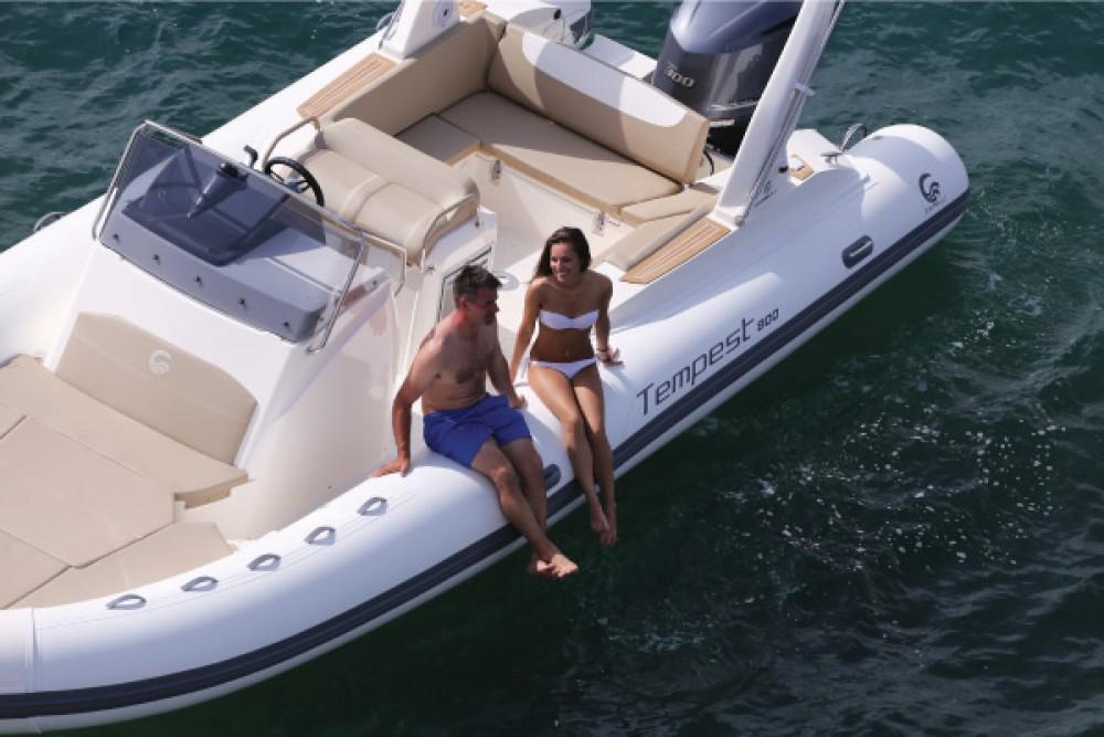 Boat rental Club de Mar cheap Temepst 800 Open