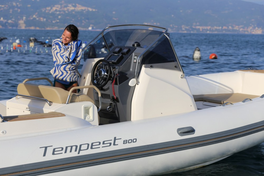 Hire RIB with or without skipper Capelli Club de Mar