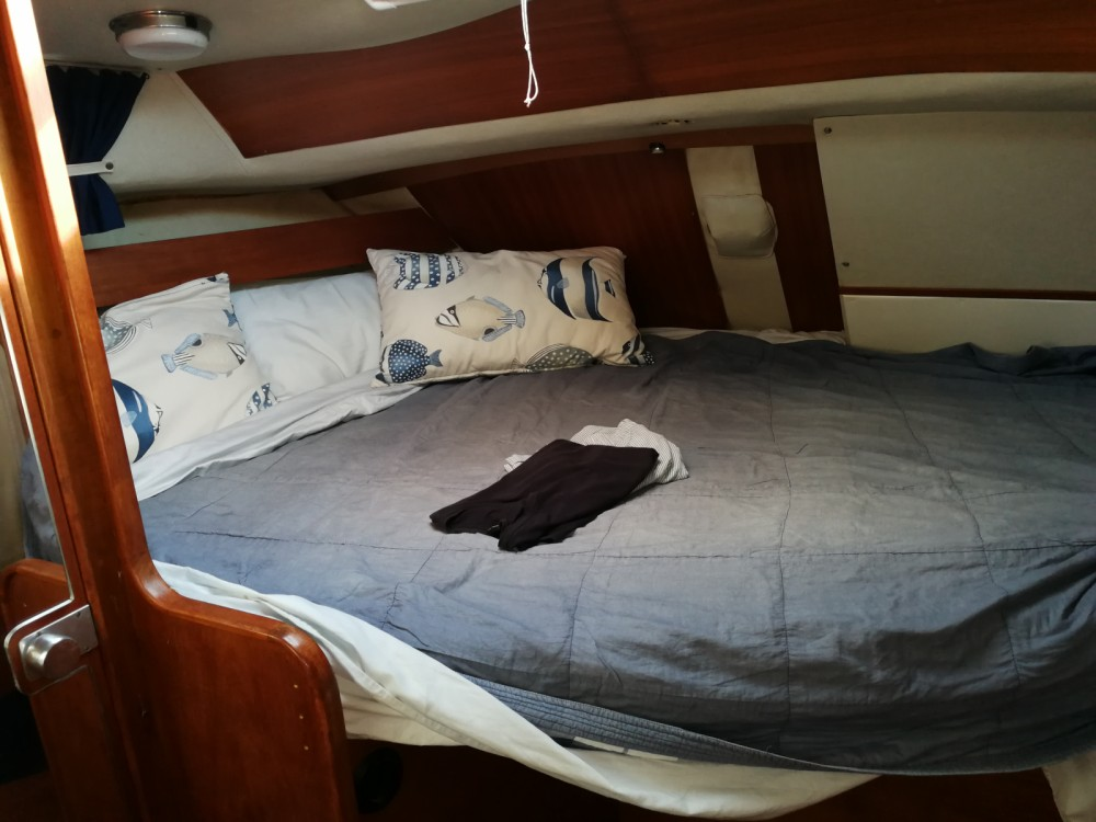 Westerly 38 Oceanranger between personal and professional Corfu