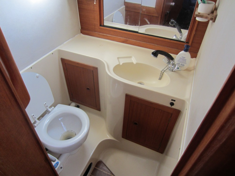 Rental Sailboat in Corfu - Westerly 38 Oceanranger
