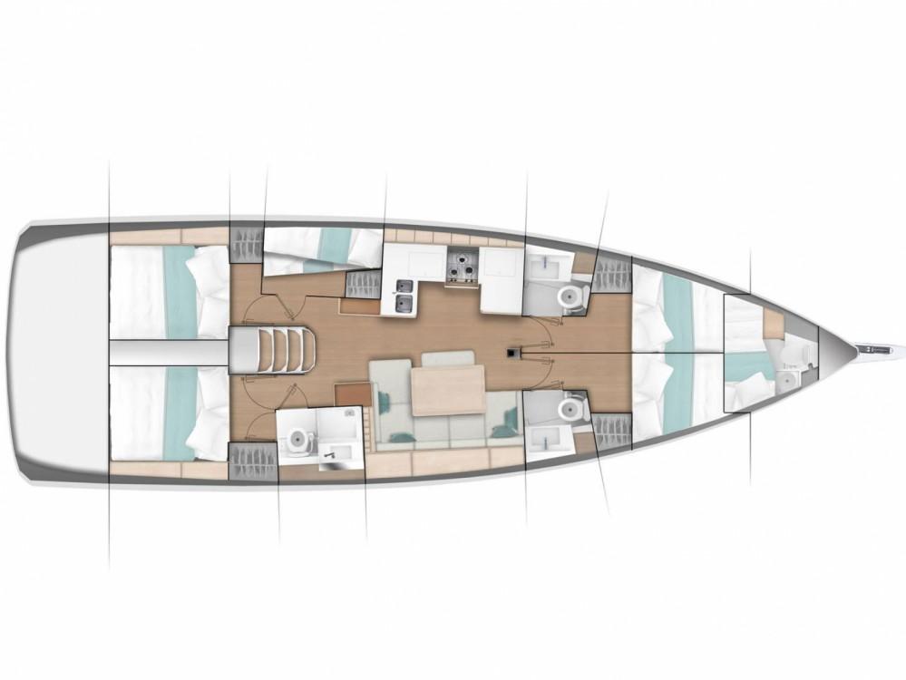 Boat rental Jeanneau Sun Odyssey 490 in Marina de Alimos on Samboat