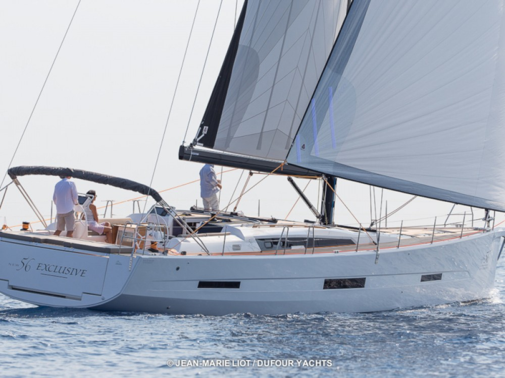 Boat rental Dufour Dufour 56 Exclusive in Marina Baotić on Samboat