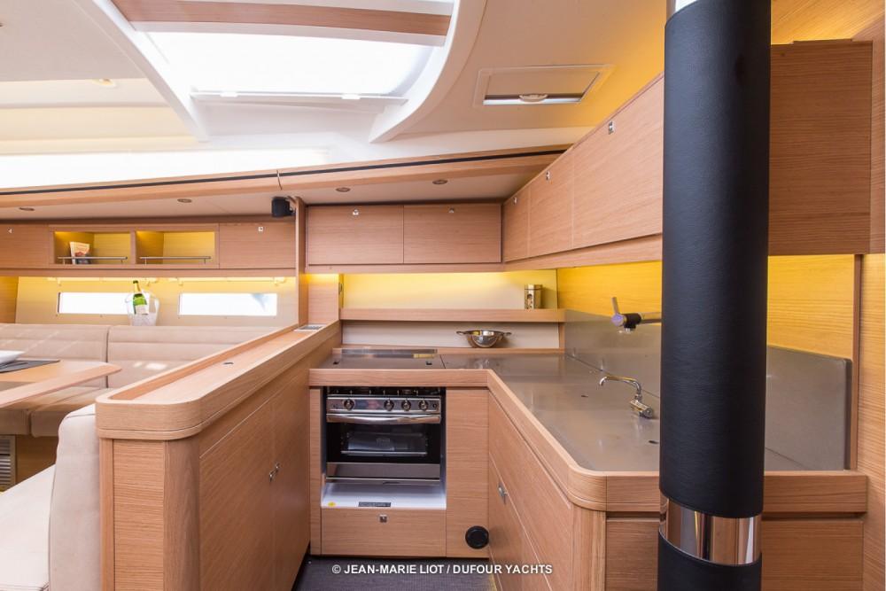 Boat rental Marina Baotić cheap Dufour 56 Exclusive