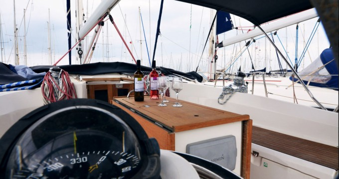 Bavaria Cruiser 45 between personal and professional Kavala
