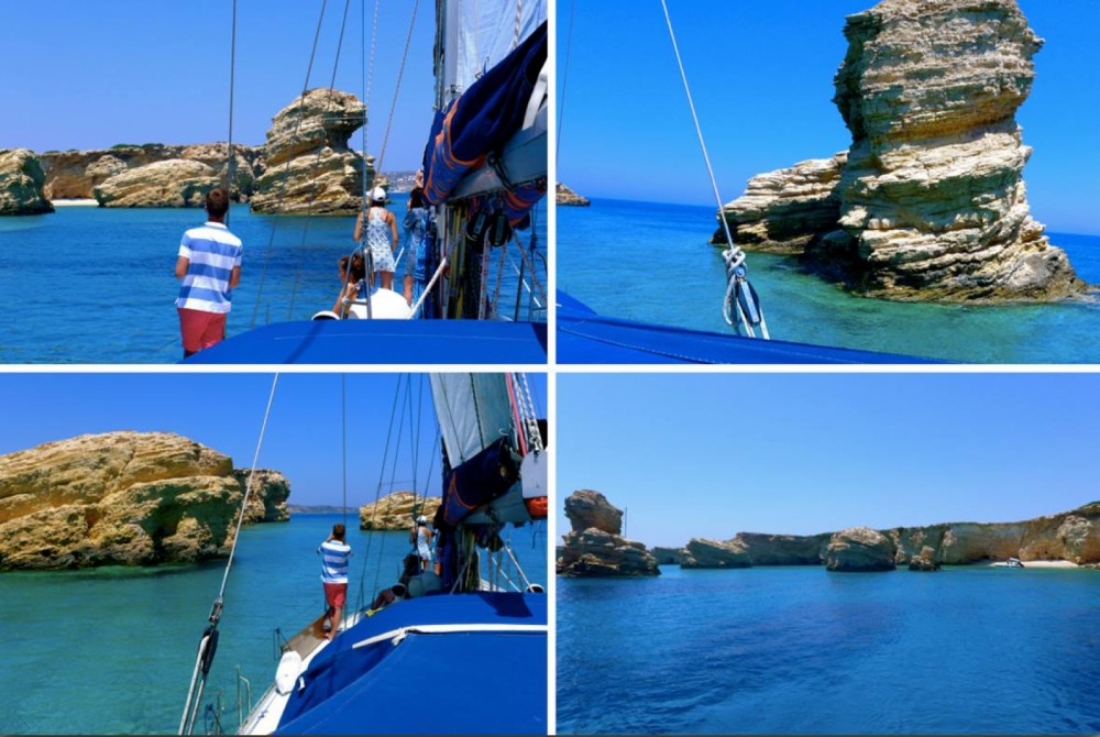Boat rental Naoussa cheap Idylle 15.50