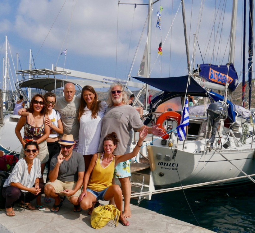 Hire Sailboat with or without skipper Bénéteau Naoussa