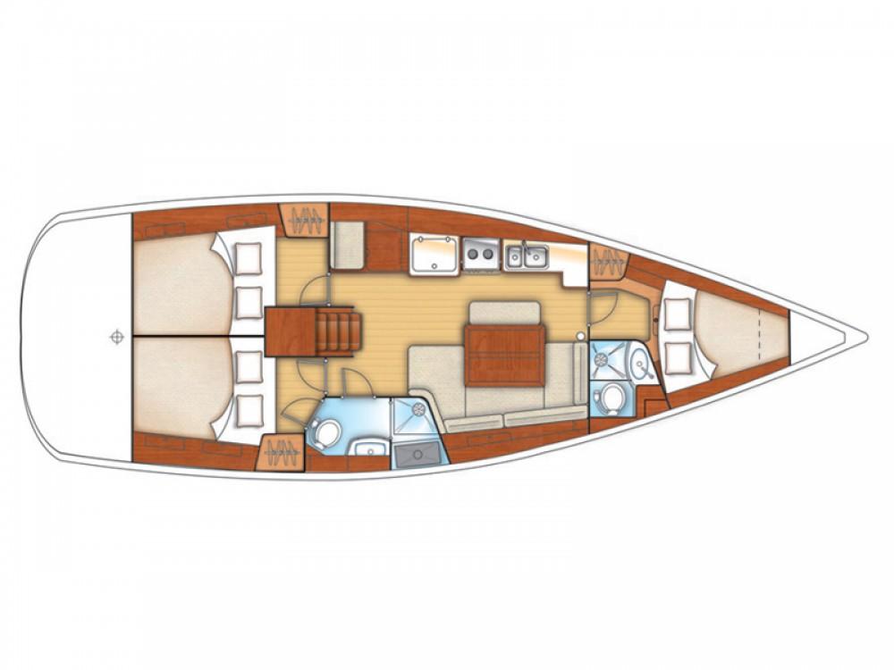 Rental yacht Volos - Bénéteau Oceanis 40 on SamBoat
