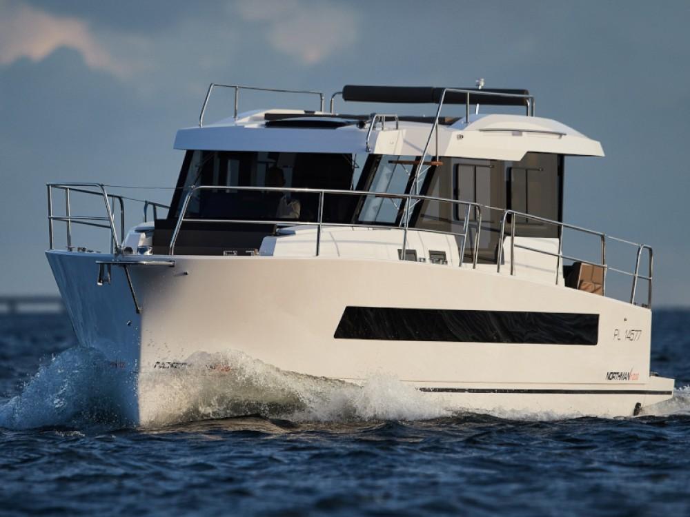 Rental Motor boat in Port PTTK Wilkasy -  Northman 1200 Elegance