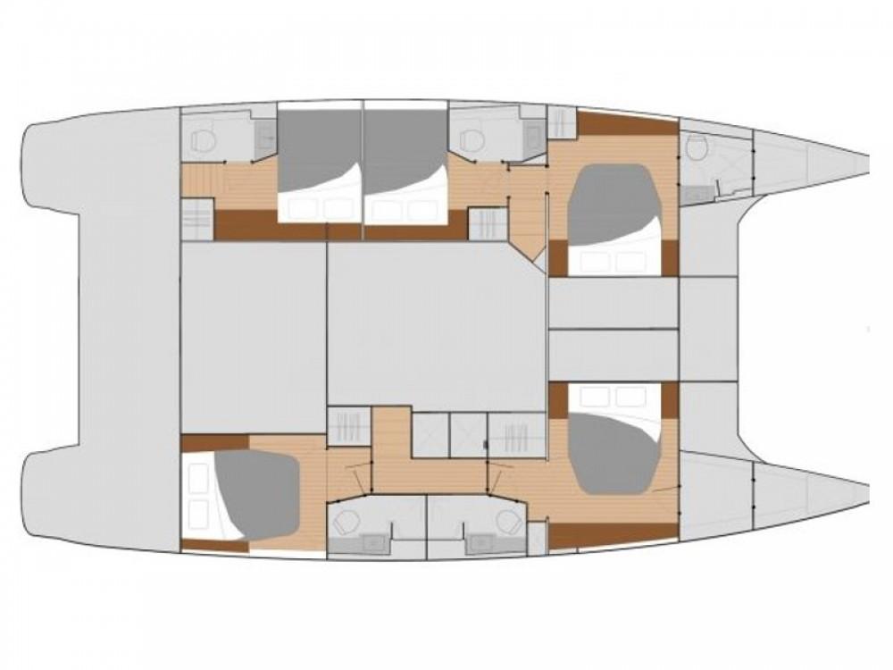 Rental Catamaran in Marina Baotić - Fountaine Pajot Saba 50