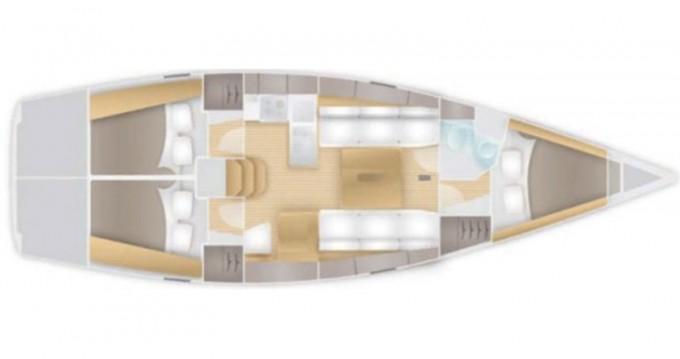 Location bateau Marina Pirovac pas cher Salona 38