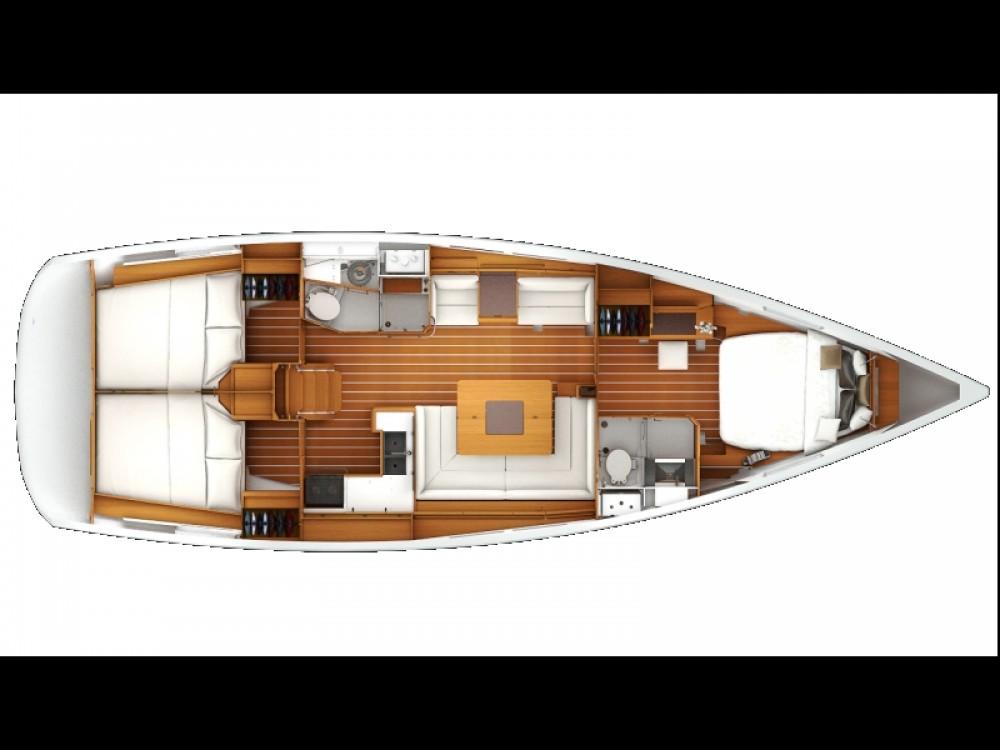 Louez un Jeanneau Sun Odyssey 439 à Kavala