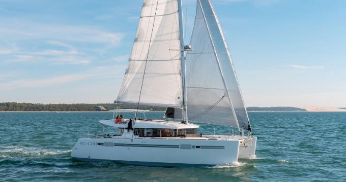 Katamaran mit oder ohne Skipper Lagoon mieten in Μαρίνα Αλίμου