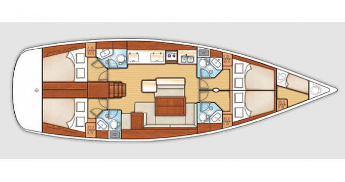 Segelboot mieten in Pula - Bénéteau Oceanis 50