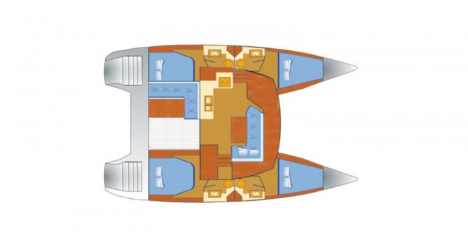 Bootsverleih Fountaine Pajot Lucia 40 Rogoznica Samboat