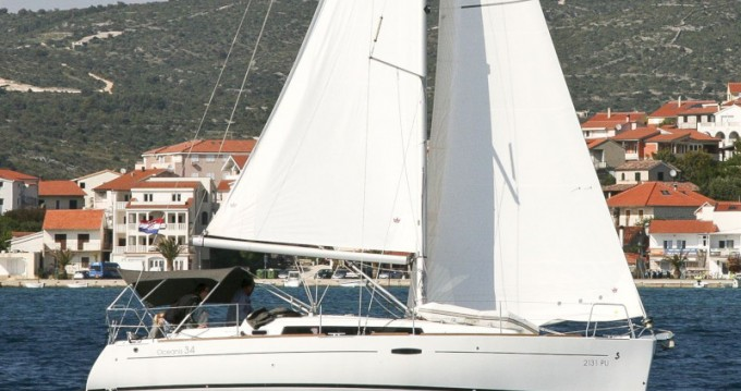 Segelboot mieten in Rogoznica - Bénéteau Oceanis 34