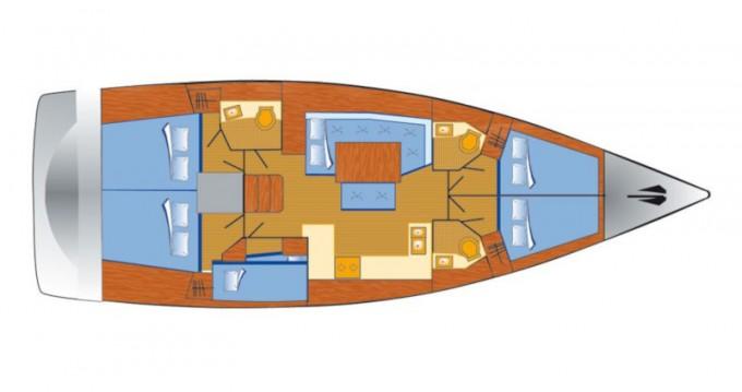 Bootsverleih Bénéteau Oceanis 48 Krk Samboat