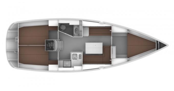 Bootsverleih Leucade günstig Bavaria Cruiser 37
