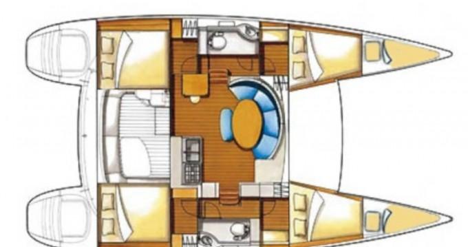 Bootsverleih Leucade günstig Lagoon 380 S2