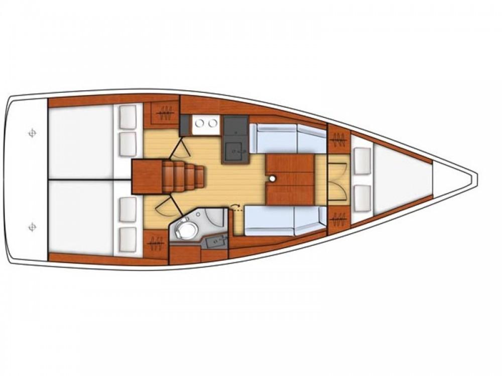 Location bateau Furnari pas cher Oceanis 35.1