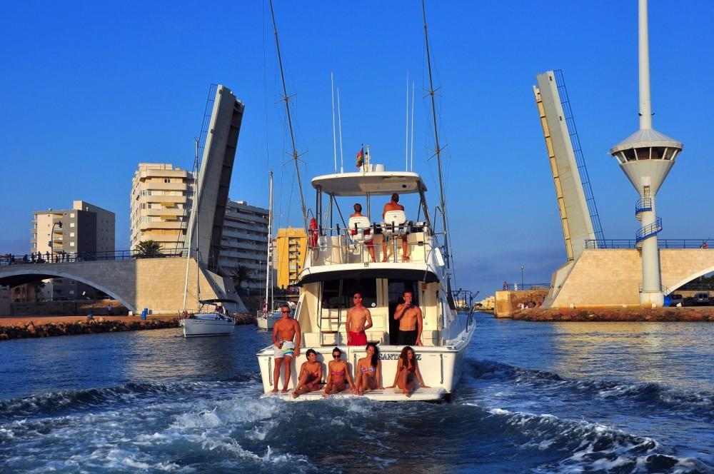 Yacht à louer à Carthagène au meilleur prix