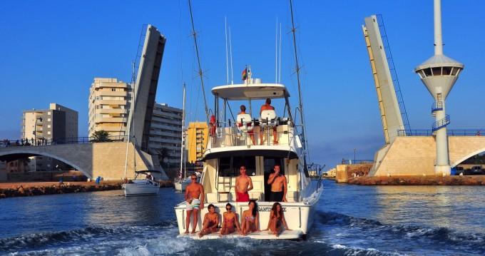 Bootsverleih Cartagena günstig Riviera 40 Open Flybridge