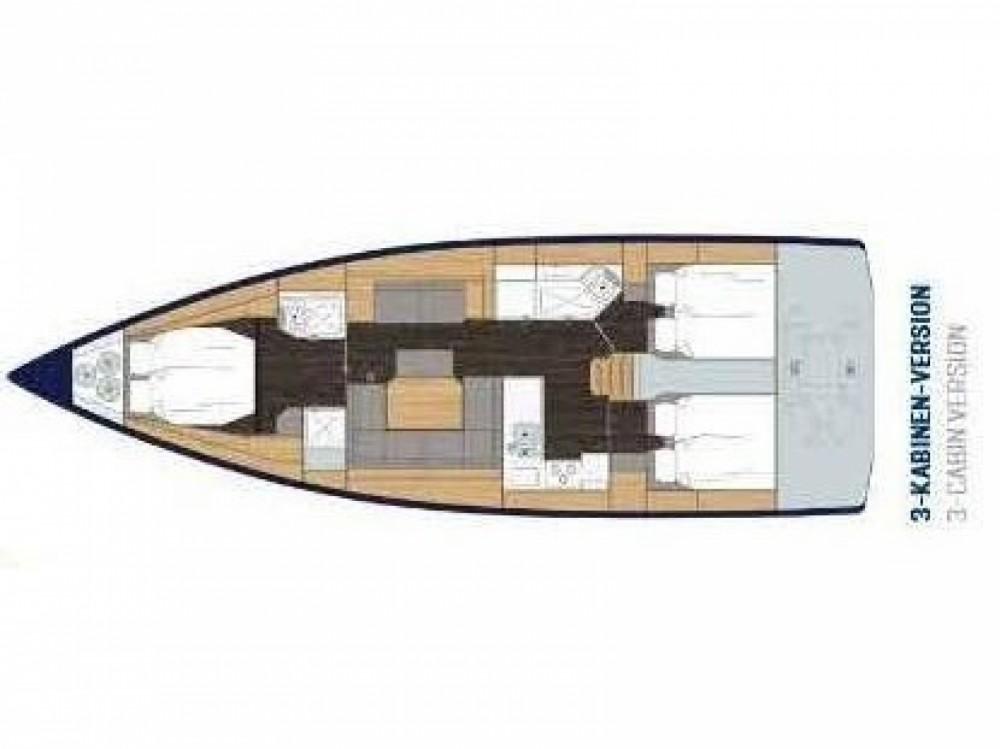 Boat rental Marina Gouvia cheap Bavaria C45 Style