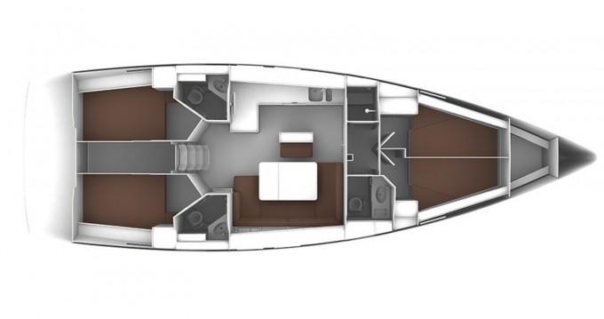 Bootsverleih Marina Kaštela günstig Bavaria Cruiser 46 - 4 cab.