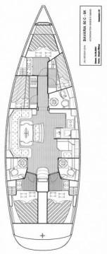 Bavaria Bavaria 50 Cruiser zwischen Privatpersonen und professionellem Anbieter Krk