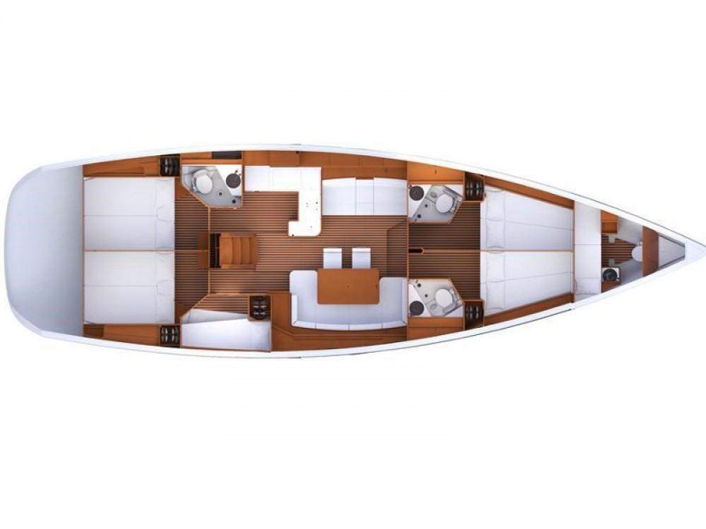 Noleggio barche Jeanneau Jeanneau 53 Napoli su Samboat