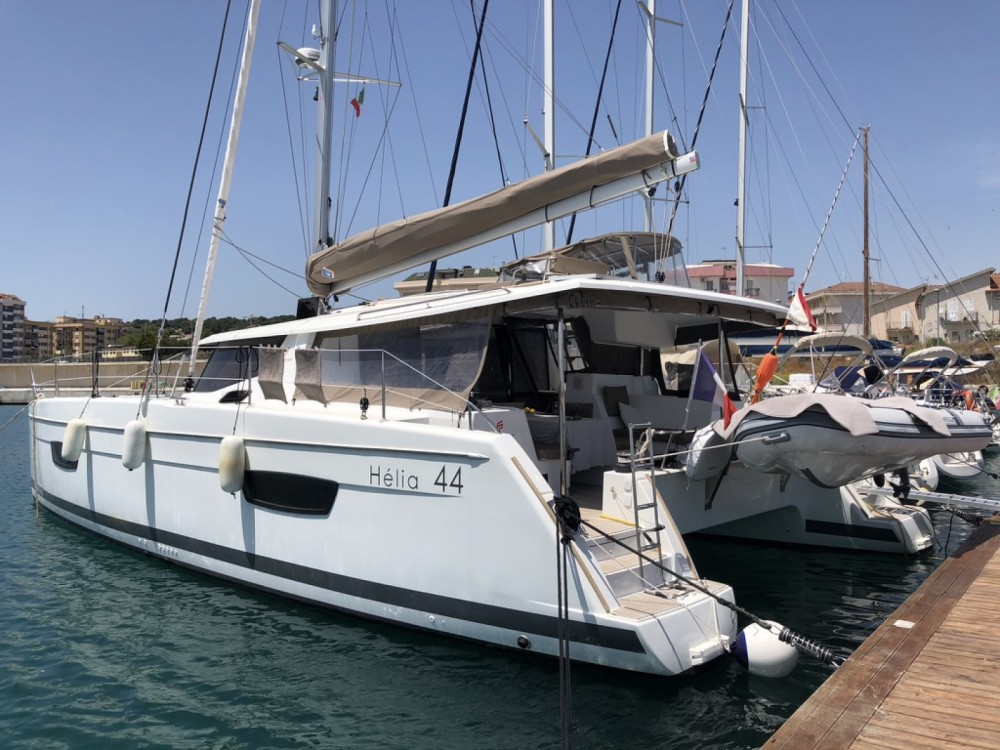 Catamaran for rent Bonifacio at the best price