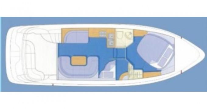 Location bateau Podgora pas cher Sealine F33 Fly