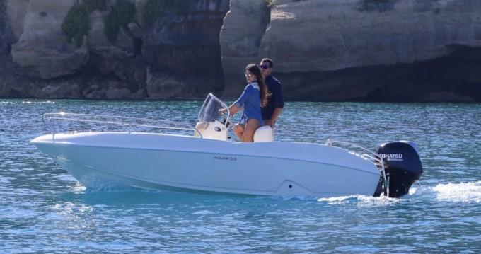 Location bateau Ta.ma.re Jaguar 5.50 à Tropea sur Samboat