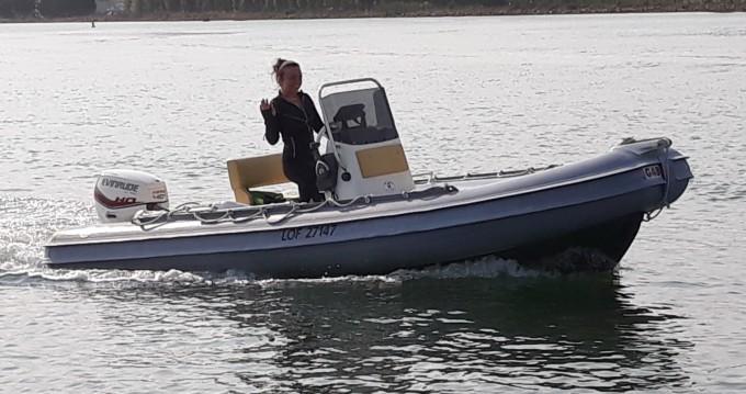 Boat rental Lorient cheap Gommonautica G48C