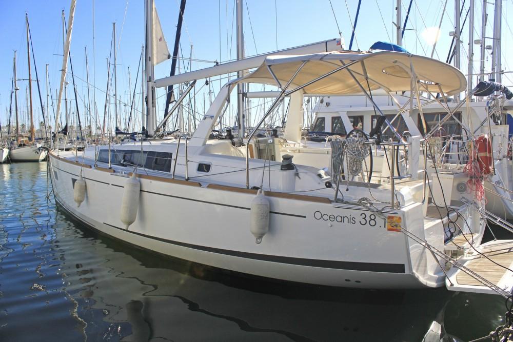Location yacht à Barcelone - Bénéteau Oceanis 38.1 sur SamBoat