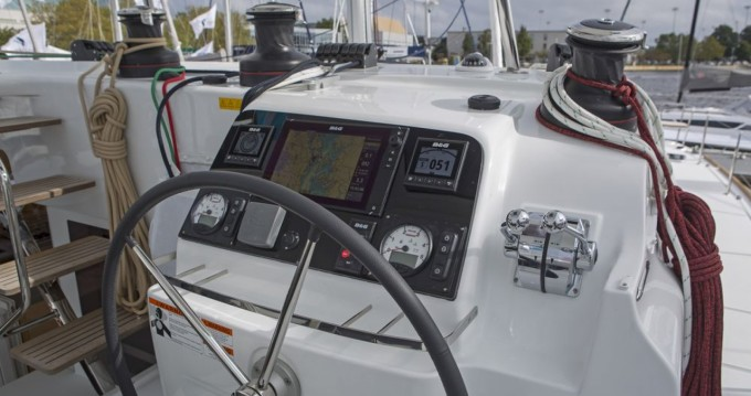 Boat rental La Rochelle cheap Lagoon 450 Sport Top