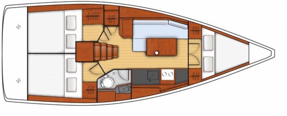 Boat rental La Rochelle cheap Oceanis 35.1