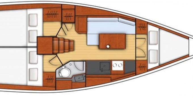 Location bateau La Rochelle pas cher Oceanis 35.1