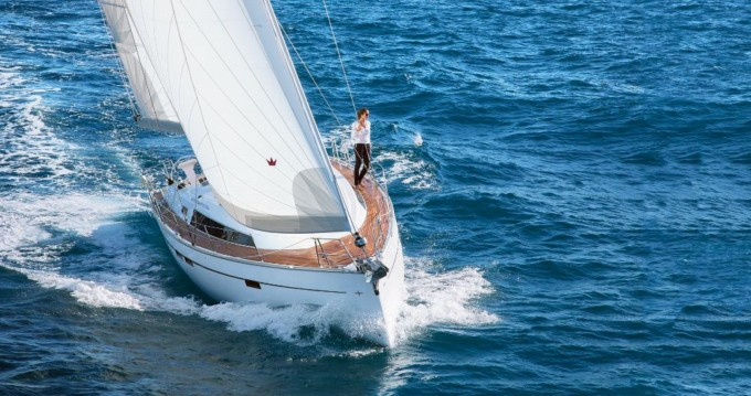 Boat rental Terranoa/Olbia cheap Bavaria Cruiser 46 - 4 cab.